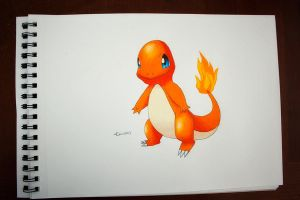Charmander by NChicaGFX