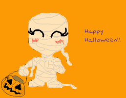 Mummy-ween by Cheesegoddess