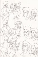 The Reunion of Korra and Iroh: Part 1 by cocoameldis