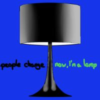 now I'm a lamp by crazzyKatie