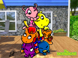 The Backyardigans  Piramide by angell0o0