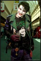 Punk Joker cosplay by smile-xvillainco