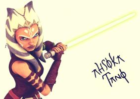 Ahsoka by BlackLeatherAgiel