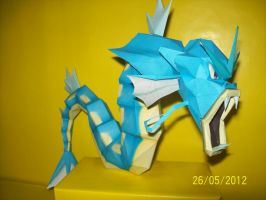gyrados papercraft by rafex17