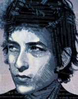 Bob Dylan by HappyCabbit