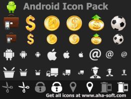 Android Icon Pack by Ikont