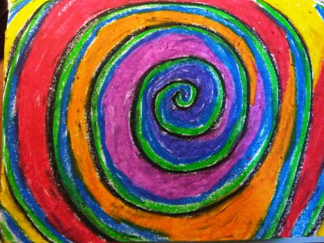 colourful whirlpool by RubySpikes