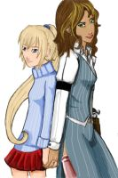 Commission: Diane and Glenda by MouseAlchemist