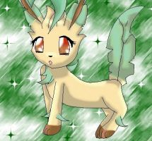 Leafeon by 222222555555