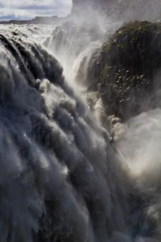 Dettifoss, Iceland (Detail) by JohnVbs
