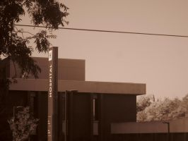 21st Century Sepia: Hospital by cillanoodle