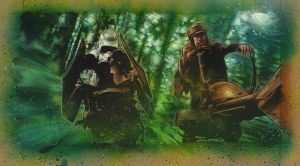 Speeder Bike Scout, Chase by JeffLafferty