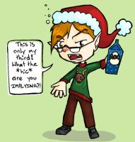 Sotally Tober for the Holidays by gryphflame