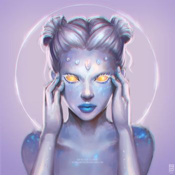RAINBOW MOONSTONE by Astri-Lohne