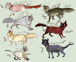 SFS | Free Adoptables by Elesette