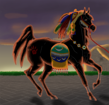 Oh, Death - Halloween 2015 by CreeksideStables