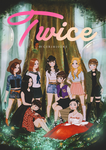 For TWICE's 1st Anniversary project. by ririss