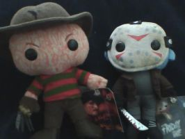 Freddy vs Jason by EmoHikaruChan