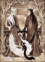 Lord of Kittendell and King of Purrkwood by Candra