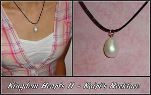 Kingdom Hearts II - Kairi Cosplay Necklace by YellerCrakka