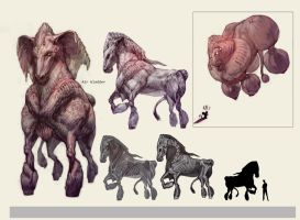 mutant gene horse by taeyoonshim