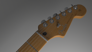 Fender Strat Head by Kryscot