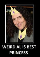 Weird Al is BEST PRINCESS by ThatBronyWithGlasses