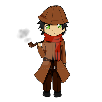 Mr Little Holmes by toothpick08