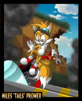 "Miles ""Tails"" Prower by VladimirJazz"