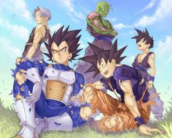DBZ Get together by Byo2010