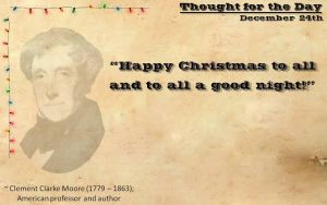 Thought for the Day - December 24th by ebturner