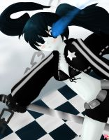 Black Rock Shooter Fanart by Usagi911
