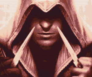 Ezio Auditore Cross Stitch Pattern Preview by shingorengeki