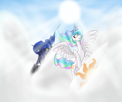 Surf the clouds by 8Aerondight8