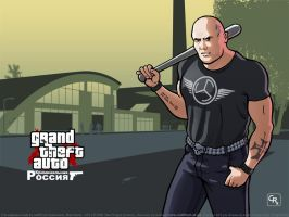GTA Criminal Russia skinhead by redfill