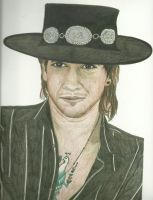 Stevie Ray Vaughn In Color by donna-j