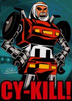 Cartoon Villains - 053 - Cy-Kill! by CreedStonegate
