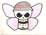 Butterfly Pirates Jolly Roger by 4x4John