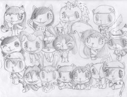 Friend picture sketch by Accyber