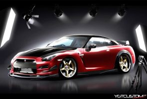 Nissan GT-R by ygt-design