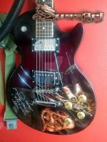 Freddy Krueger Guitar 2 by Svee
