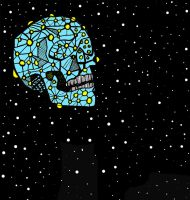 space skull by SpencerChinoy71
