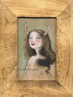 The Horned Lady by Neyrelle