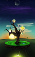 Magic Tree by Leoncinus