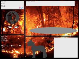 |COE| {The Flickering Flame application} -Blank- by TheUntamedArtist
