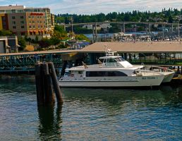 New Kitsap Transit foot ferry. by Mackingster