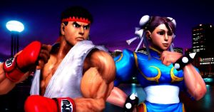 Ryu And Chun Li by 1kamz