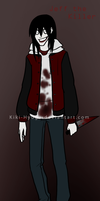 Older Jeff the Killer by La-Mishi-Mish