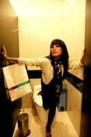 Shopping Lady by Swielly