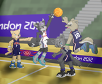 London 2012 - Basketball by fire-ice-n-lightning
